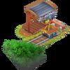 Estación de tren granja