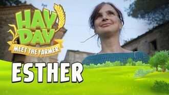 Hay Day Meet the Farmer! S2E2 Esther from Tuscany, Italy