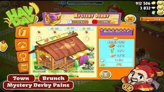 Hay Day Mystery Derby Pains - Town Brunch