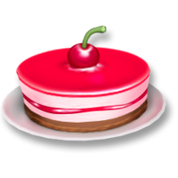 Red Berry Cake