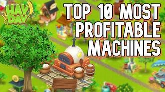 Hay Day TOP 10 Most Profitable Machines
