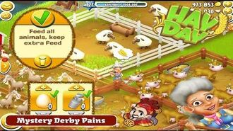 Hay Day Mystery Derby Pains - Rose vs Feed Tasks