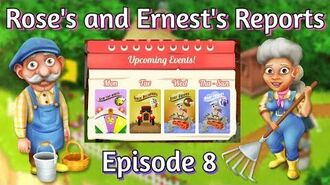 Hay Day Rose's and Ernest's Reports Weekly Events! Global Boats!