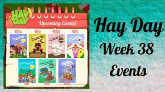 Hay Day Week 38 Events