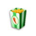 Chili-popkorn