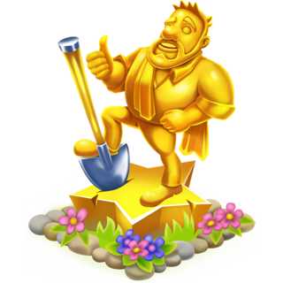 Golden Greg Statue(lvl 50)