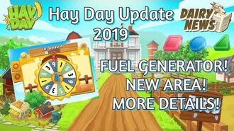 Hay Day Update 2019 New Area! Dairy News! More Details!