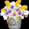 Yellow Flower Bucket