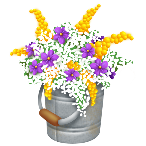 File:Yellow Flower Bucket.png