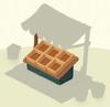Crates Dark Wooden