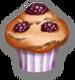 Muffin à La Mûre