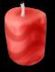 Bougie à la fraise