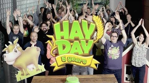 Hay Day's 5th Anniversary Thank You