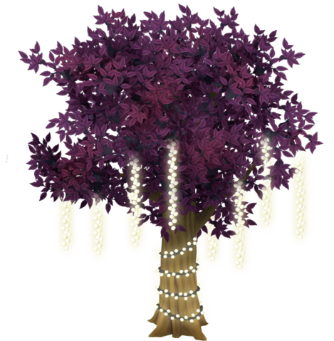 File:Purple Tree With Lights.png
