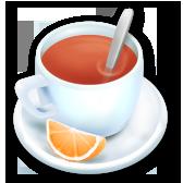 Tè all'arancia