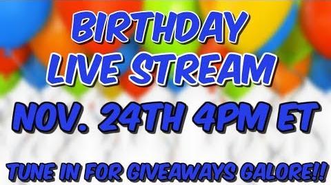 HAY DAY-MY BIRTHDAY LIVE STREAM ANNOUNCEMENT!!