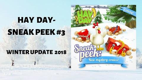 Hay Day Winter Update 2018 - Sneak Peek 3