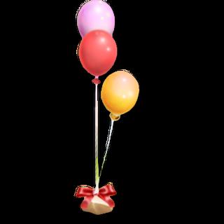 Balloons x3