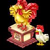 Chinese Chicken Statue