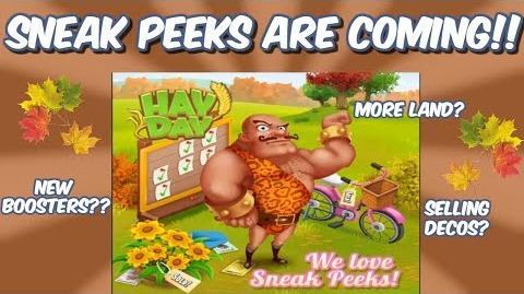 HAY DAY-FALL UPDATE!! WE LOVE SNEAK PEEKS!!