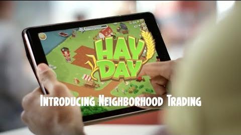 Hay Day Introducing Neighborhood Trading