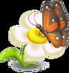 Schmetterlings-Dekor