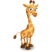 Yellow Giraffe Calf