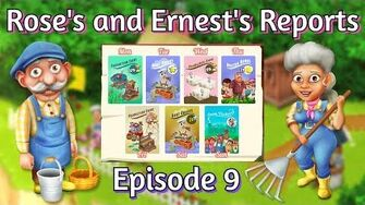 Hay Day Rose's and Ernest's Reports Weekly Events!