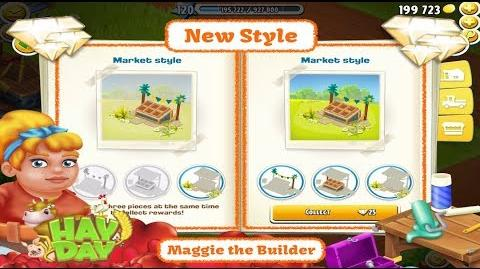 Hay Day Maggie - New Style, Market Style, Hay Day Diamonds