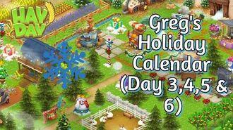 Hay Day Greg's Holiday Calendar 2019 (Day 3, 4, 5 & 6)