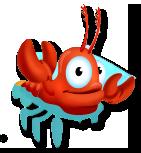 Aragosta nella vasca per aragoste