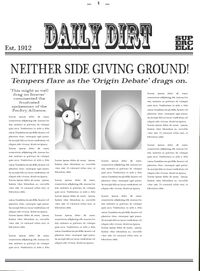 Daily Dirt Cover Old