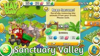 Hay Day New Sanctuary Valley! (Gameplay)
