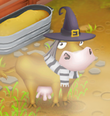 Mucca halloween