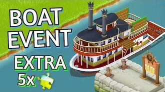 Hay Day Boat Event Extra Puzzle Pieces!