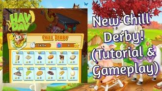 Hay Day New Chill Derby! (Tutorial & Gameplay)