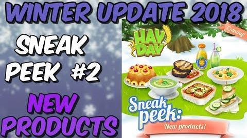 HAY DAY-SNEAK PEEK 2!! NEW PRODUCTS!!