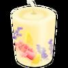 Blumenkerze