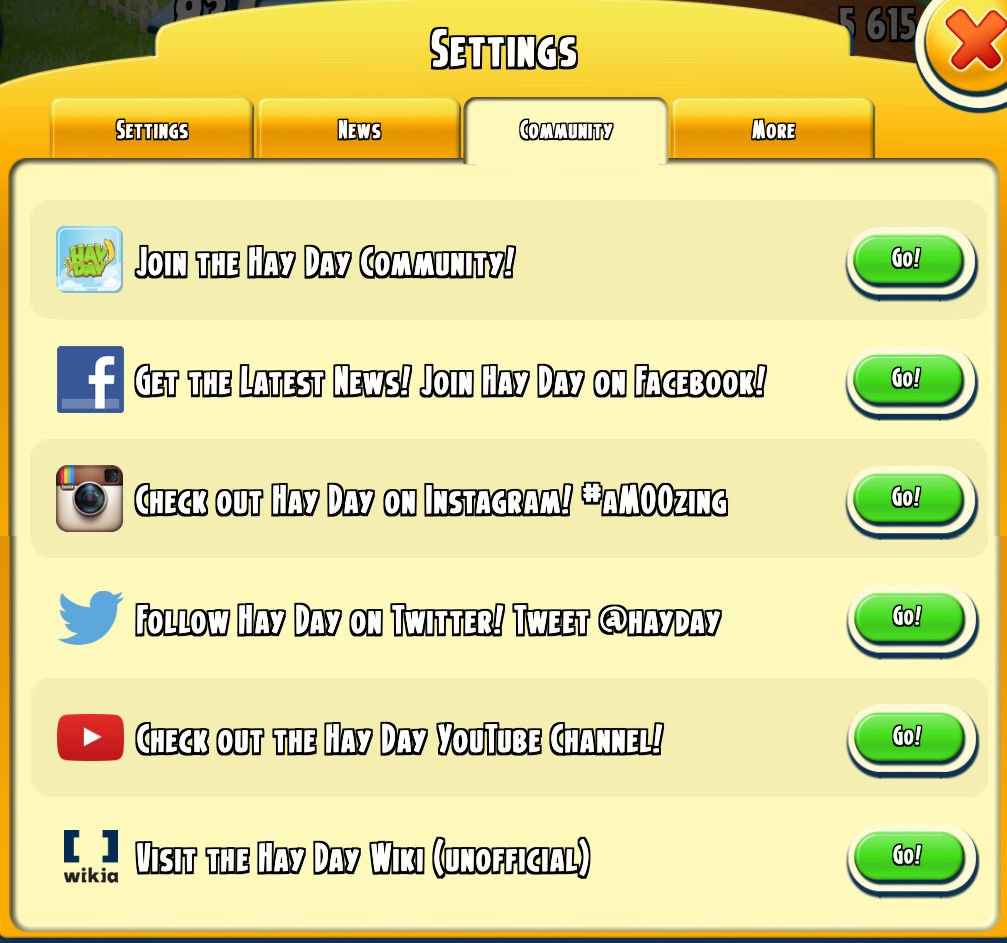 Hay day matchmaking