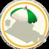 Awning Green Umbrella