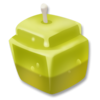 Zitronenkerze