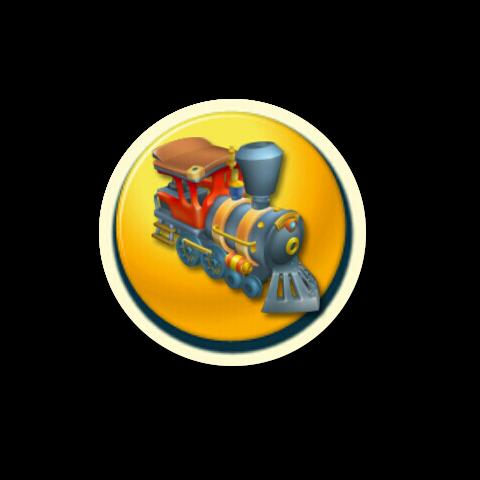 The personal train icon