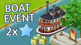 Hay Day Boat Event 2x XP