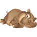 Brown Hippo