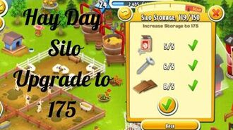 Hay Day Upgrade Silo to 175