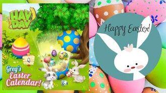 Hay Day Greg's Easter Calendar!