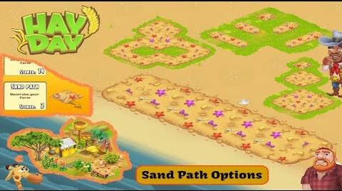 Hay Day - Sand Path Options