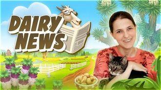 Hay Day Dairy News Summer 2020 Update! 🐿️