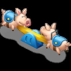 Pig Seesaw