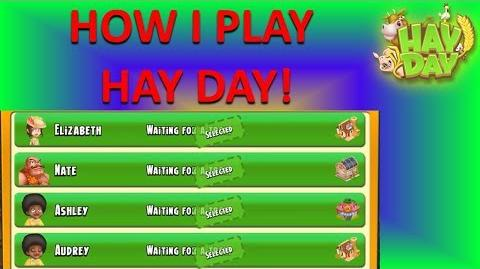 HAY DAY - P1 VIEWER REQUEST! OVERVIEW OF HOW I PLAY HAY DAY!